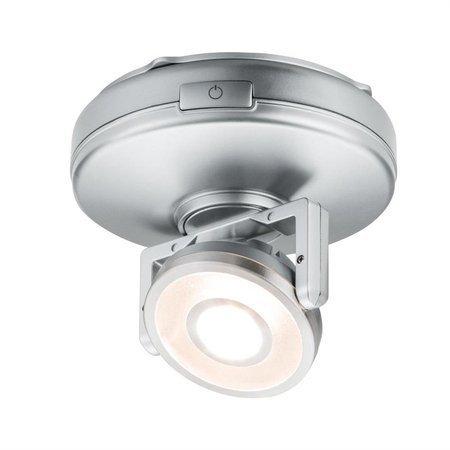 Schrankleuchte Rotate LED 1W 3000K 66lm Chrom matt 3x1.5V AA
