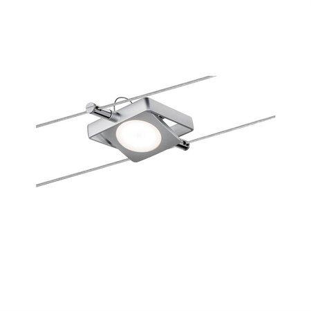 Seilsystem LED MacLED 4x4W 2700K 200lm Chrom matt 12V