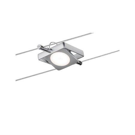 Seilsystem LED MacLED 5x4W 2700K 200lm Chrom matt 12V
