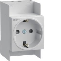 Steckdose 10/16A 250V  Hager SN016