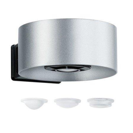 Strahler CONE Wandleuchte LED 2x6W 3000K 30-90° - Silber/Anthrazit Paulmann PL79675