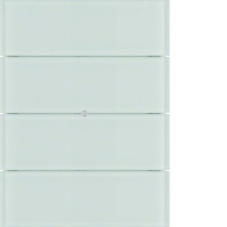 Tastsensor 4fach B.IQ Glas polarweiß Hager 75164090