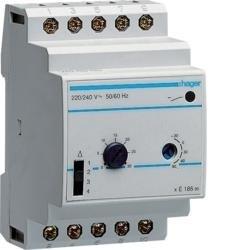 Thermostat Mehrbereich Hager EK186