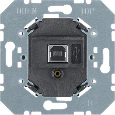 USB Datenschnittstelle Up KNX schwarz Hager 75040004