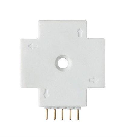 Verbinder X FN MaxLED weiß Kunststoff