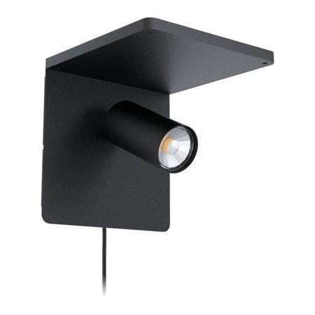 Wandleuchte CIGLIE schwarz GU10-LED 5W 400lm 3000K 98263 EGLO