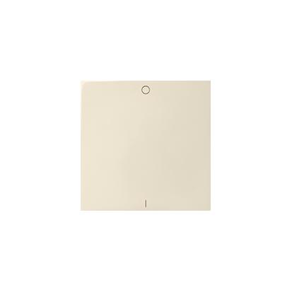 Wippe für Schalter/ Taster 1fach mit Symbol 0-1 1fach beige matt Kontakt Simon 82 82031-31