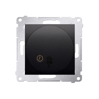Zeitschalter (Modul) mit Ausschaltverzögerung anthrazit matt Kontakt Simon 54 Premium DWC10P.01/48