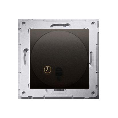 Zeitschalter (Modul) mit Ausschaltverzögerung braun matt Simon 54 Premium Kontakt Simon DWC10P.01/46