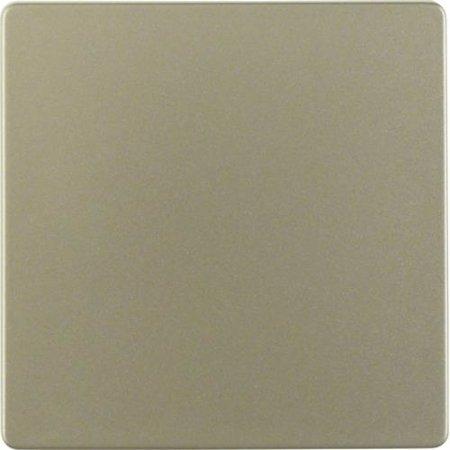 Zentralplatte für Sensoreinsatz Zentralplattensystem hellbraun lackiert Hager 75940404